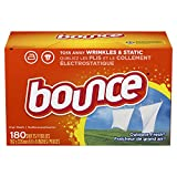Bounce Fabric Softener Sheets, Outdoor Fresh, 180 Count