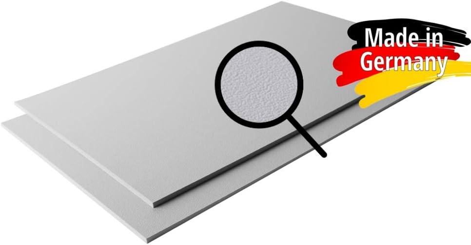 ABS Kunststoff Platte 1000x490mm Farbe Schwarz Stärke 2mm