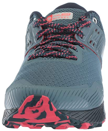 New Balance Women's Nitrel V2 FuelCore Trail Running Shoe Light Petrol/Galaxy/Blossom 6 B US by New Balance (Image #4)