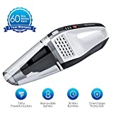 NOVETE Handheld Vacuum Cordless, 7kPa Portable Hand Vac Cleaner with HEPA Filter, 14.8V