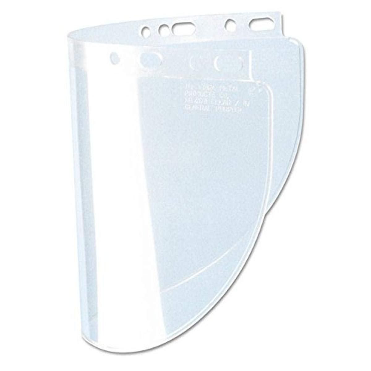"Honeywell Fibre-Metal 4118CL High Performance Faceshield Windows, Clear, Standard, 8"" x 11 1/4"""