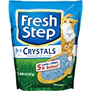 Fresh Step Crystals, Premium, Clumping Cat Litter, Scented, 8 Pounds