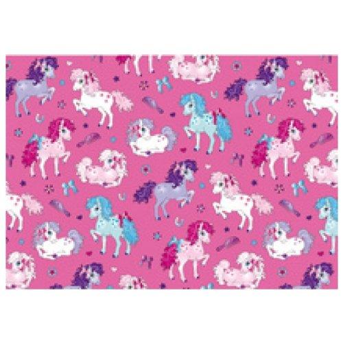 SUSY CARD 11253499 Geschenkpapier'Little pony', auf Rolle
