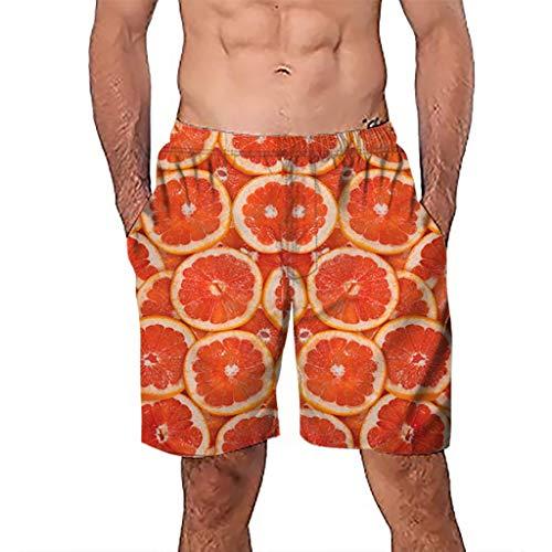 NUWFOR Men Casual 3D Graffiti Printed Beach Work Casual Men Short Trouser Shorts Pants(Z1-Multi Color,US:M Waist9.1-33.1'') by NUWFOR (Image #6)