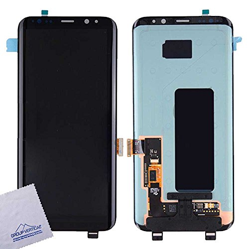 Touch Screen Digitizer and LCD for Samsung Galaxy S8 Plus – Midnight Black