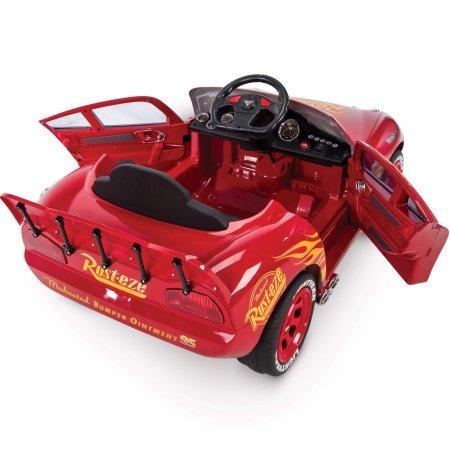 huffy pixar cars 3 lightning mcqueen 6v battery powered. Black Bedroom Furniture Sets. Home Design Ideas