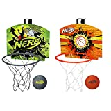 Nerf A0367 Nerf N Sports Nerfoop Set Assorted Colors l Built for Indoor or Outdoor Action