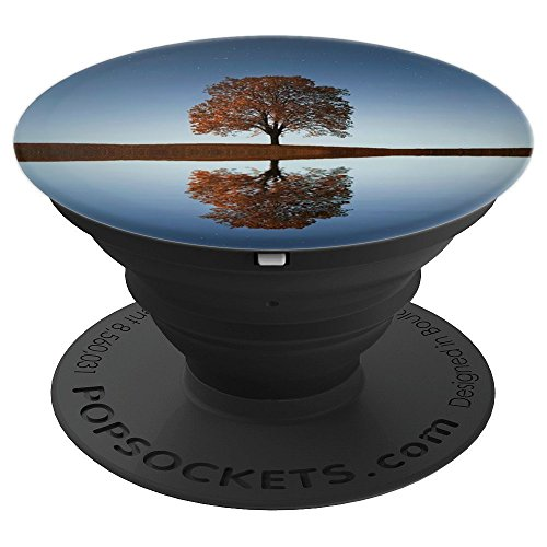 (Reflecting Tree - Natural Scenic Pop Socket - PopSockets Grip and Stand for Phones and Tablets)