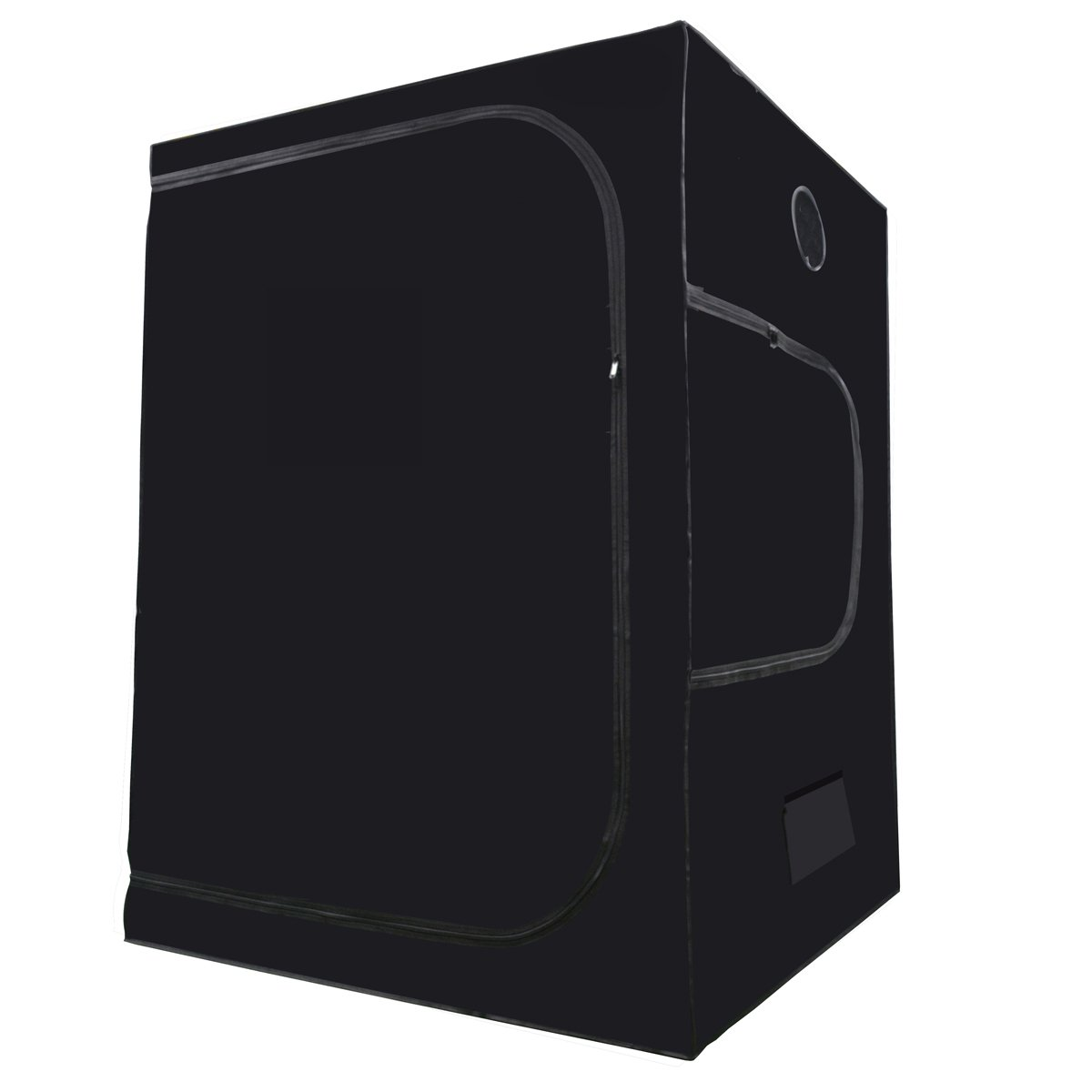 MELONFARM Mylar Hydroponic 60''X60''X80'' Grow Tent With Removable Floor Tray for Indoor Seedling Pant Growing 5'x5'