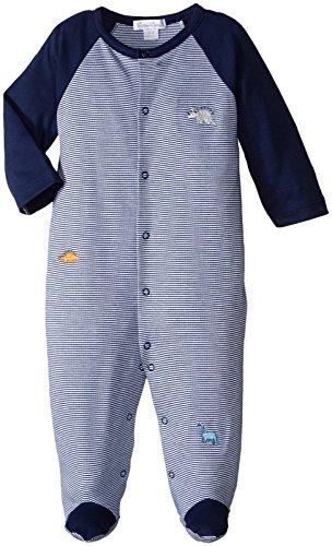 Kissy Kissy - Pajarita para bebé (diseño de Rayas), Azul, Recién Nacido