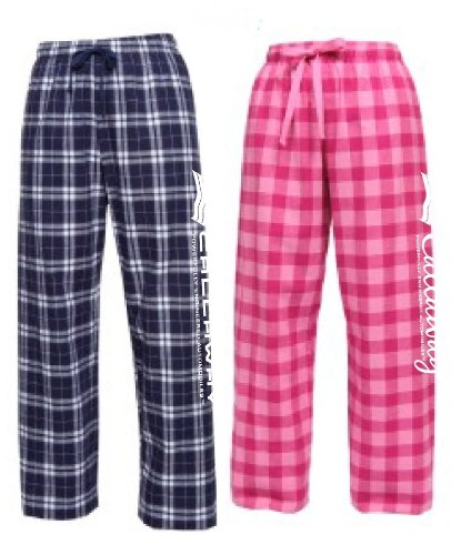Callaway Cars 980.92.9554.S Pink Small Ladies' Flannel Pajama Pants