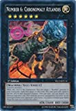 yugioh number cards - Yu-Gi-Oh! - Number 6: Chronomaly Atlandis (YS13-ENV11) - Super Starter Power-Up Pack - 1st Edition - Common