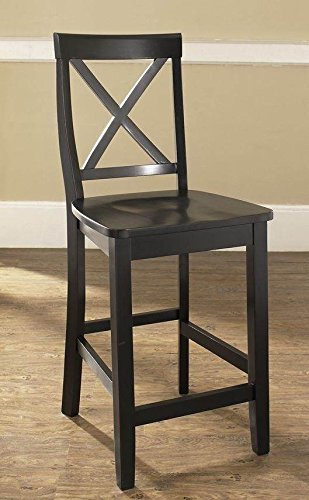 wood bar stools with backs - 9