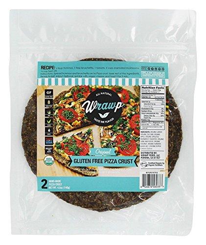 Wrawp - Organic Gluten Free Pizza Crust Original - 2 Sheet(s)