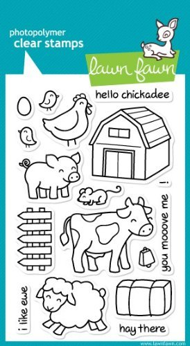 Lawn Fawn Clear Stamps - Critters On The Farm by Lawn Fawn