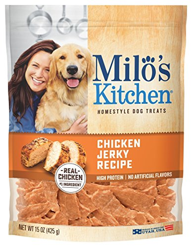 15-Ounce, Chicken Jerky Strips Dog Treats with No Artificial Flavors or Colors - Fda Chicken Jerky