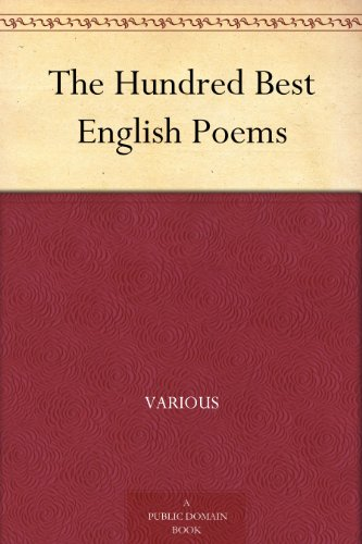 The Hundred Best English Poems (Three Titles Of Poems By Emily Dickinson)
