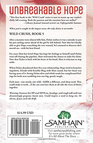 Amazon.com: Unbreakable Hope (Wild Crush) (9781619235755): Sami Lee: Books