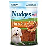 Nudges Premium Jerky Cuts Dog Treats, Roasted Duck, 3 Ounce