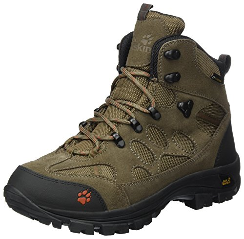 Jack Wolfskin Mens All Terrain 7 Texapore Mid M Hiking Boot Earth Orange QeDHGtu