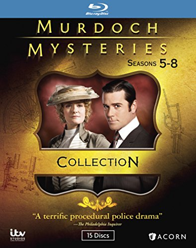 Murdoch Mysteries Collection 5-8 [Blu-ray]