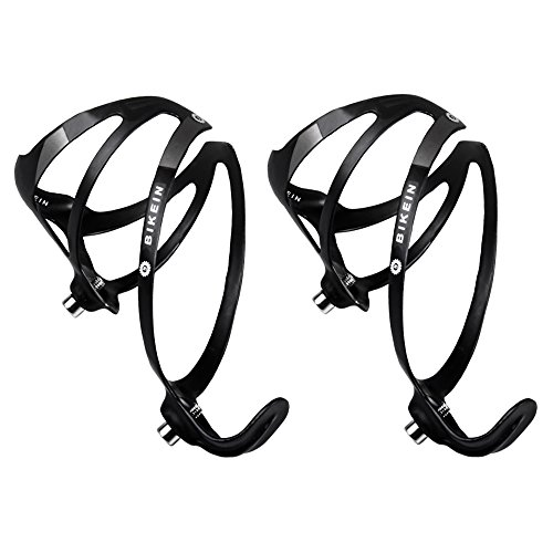 - BIKEIN PRO 1 Pair UD Carbon Bicycle Water Bottle Cage Bike Bottle Holder MTB Parts Black 25g/Piece