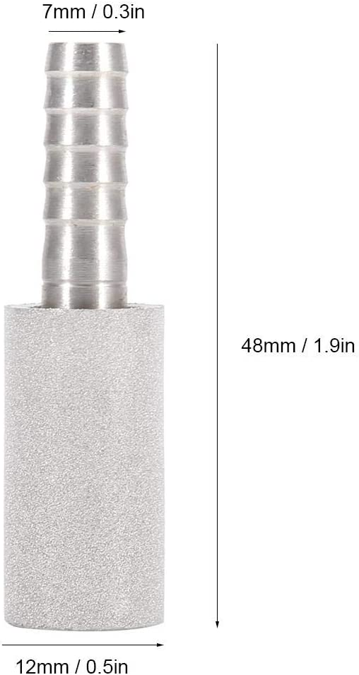 2Micron Diffusion Stone Stainless Steel Oxygenation Aeration Stone Bar Homebrew Beer Tool Carbonating Stone Accessories