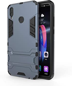 HDRUN Huawei Honor 8X Funda - 2in1 Duro PC + Suave TPU Silicona ...