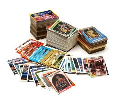 (NBA Basketball Card Collector Box Over 500 Different Cards. Great Mix of players from the last 25 years. Ships in a new brand new factory sealed white box perfect for gift giving.)