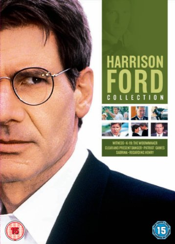 Amazon Com The Harrison Ford Collection Witness K 19 Clear And Present Danger Patriot Games Sabrina Regarding Henry Import Anglais Movies Tv