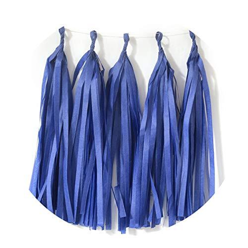 Confetti Baby Shower Tissue Paper Tassel Dinosaur Party Wedding Decoration for Wedding,19 Dark Blue