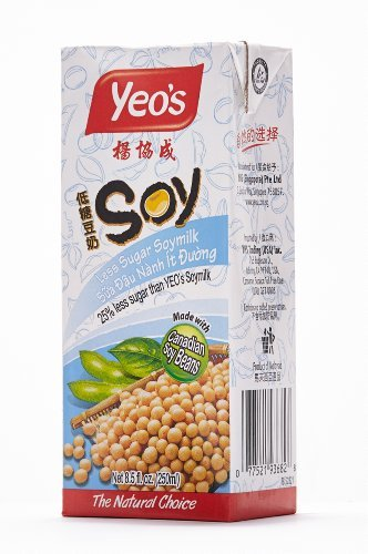 Yeo' Less Sugar Soymilk (Pack of 24)