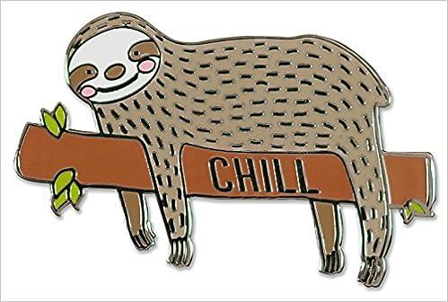 Sloth - Hard Enamel Pin (Cloisonne Pin): Inc  Peter Pauper