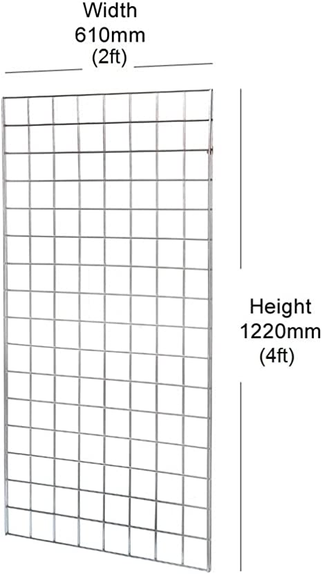 GRID WALL GRIDWALL MESH HOOK ARM ACCESSORY SHOP DISPLAY HOOK ARM HANGER CR
