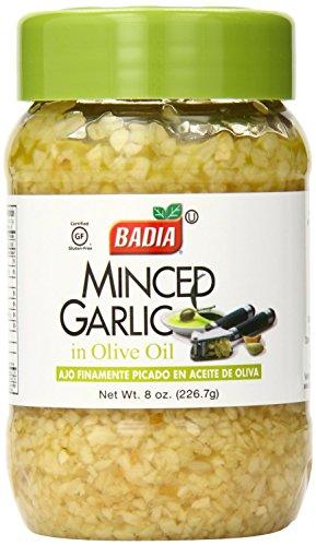 Badia Minced Garlic in Olive Oil 8 Oz (Pack of 3)
