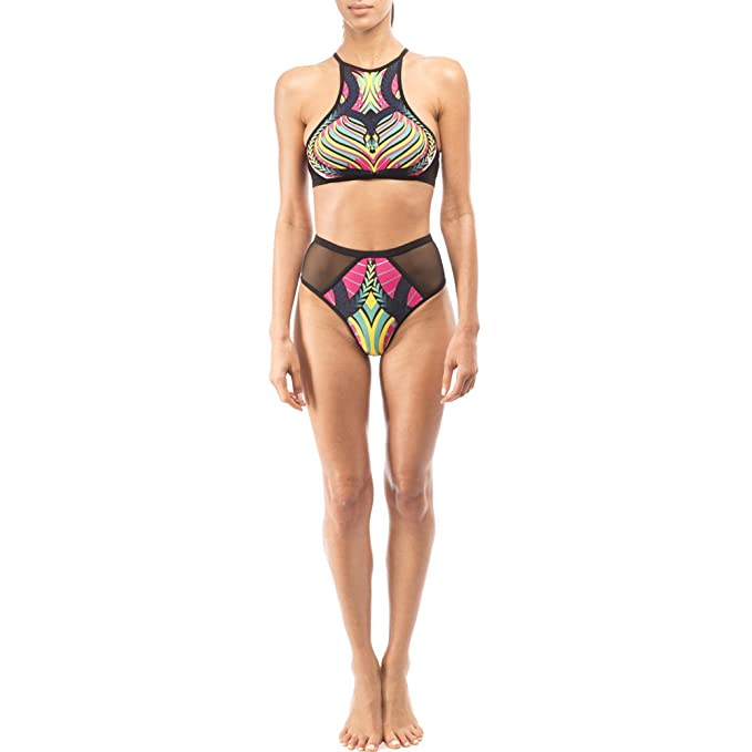 362967ddce4fe Eden Fghk Printed Bikini Hot Sexy Backless Jacobs Hollow Swimming Suit  Geometric Pattern Printing Bikini Perspective