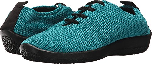 Arcopedico Womens LS Tie Knit Turquoise Oxford - 40