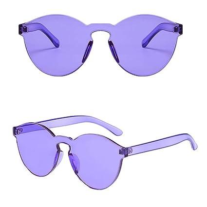 MMCP Gafas de Sol sin Montura, Gafas Gafas Colores de ...