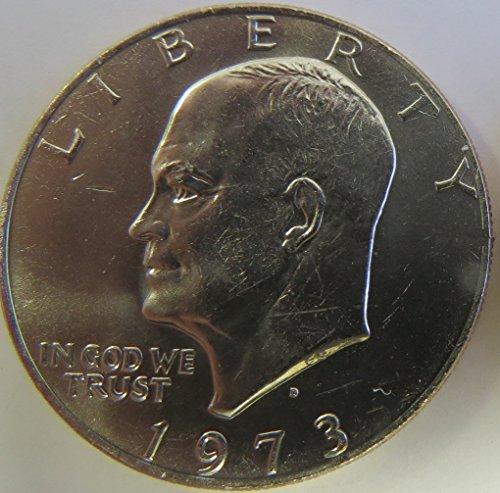 - 1973 D Eisenhower Dollar Choice Uncirculated