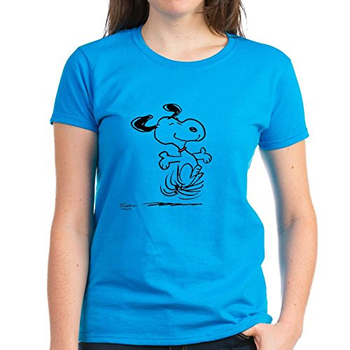 CafePress Snoopy Dancing T Shirt Comfortable