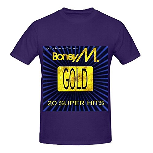 boney-m-gold-20-super-hits-tour-electronica-mens-o-neck-casual-t-shirt-purple