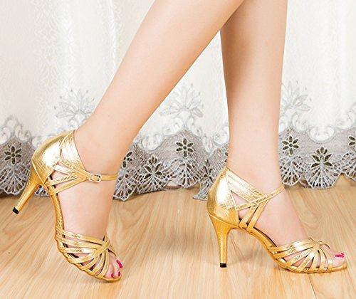 35 Ballerine Oro Joymod Gold Heel MGM 8 Donna 5cm 75p8wApRqW