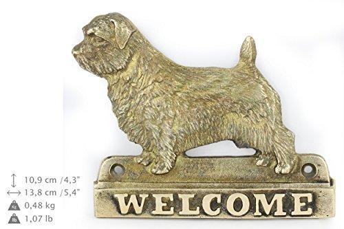 (Norfolk Terrier, Dog Welcome, Limited Edition, Artdog)