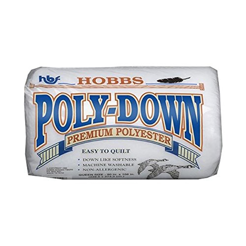 Hobbes PD90 | Polydown Queen Size Polyester Wadding | 90 x 108in by Hobbs