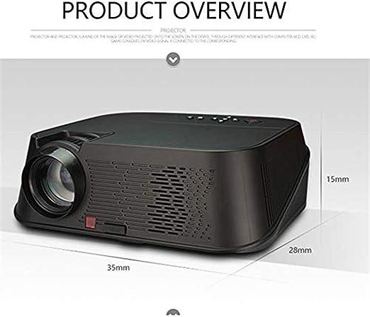 Proyector Proyector para el hogar 350000 lúmenes LED micro ...
