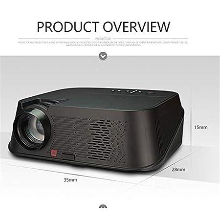 Mini proyectores Proyector para el hogar 350000 lúmenes LED micro ...