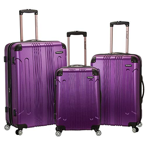 Rockland 3 Piece Sonic Abs Upright Set, Purple, One Size ()