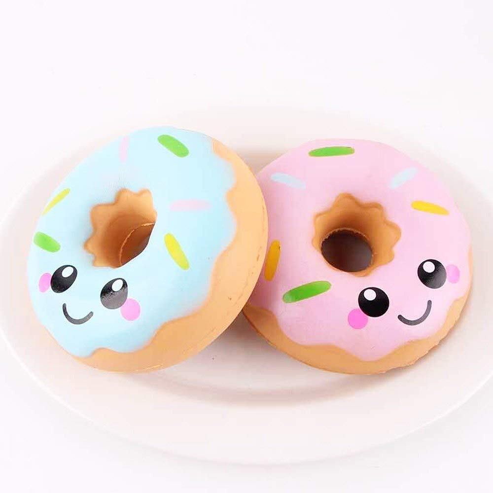 Amazon.com: 11 cm Lovely Donut Cream Aromatic Squishy Slow Down Growth Squeeze Anti-Stress Soft Funny Gadgets Kawaii squishies: Kitchen & Dining