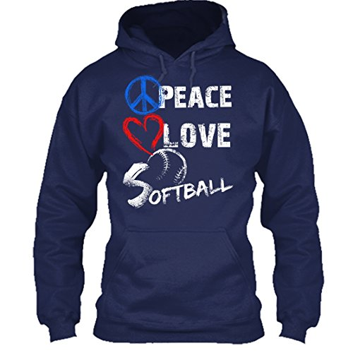 Peace And Love Hooded T-Shirt - 7