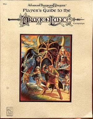 Guide Edition Players 2nd - Player's Guide to the Dragonlance Campaign (Advanced Dungeons & Dragons, 2nd Edition, Pg1)